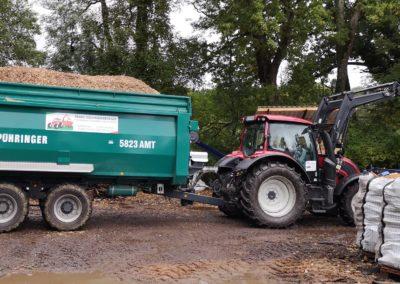 Hackschnitzel 01 | Kollmannsberger Prien | Forstbetrieb Brennholz Winterdienst