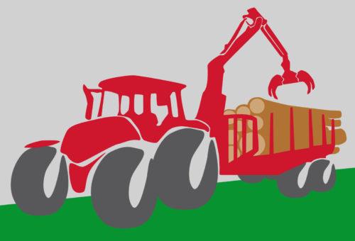 Traktor 01 | Franz Kollmannsberger Prien | Forstbetrieb Brennholz Winterdienst