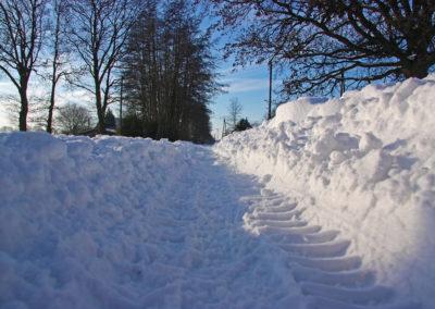 Winterdienst 01   Kollmannsberger Prien   Forstbetrieb Brennholz Winterdienst