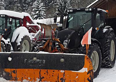 Winterdienst 02   Kollmannsberger Prien   Forstbetrieb Brennholz Winterdienst